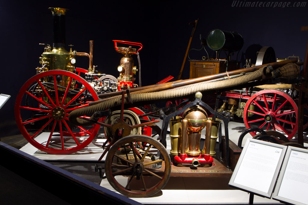 Bikkers Fire pump    - The Louwman Museum