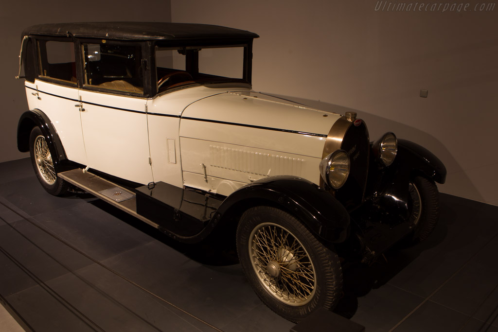 Bugatti Type 44 Bergeson & Descoins Faux Cabriolet    - The Louwman Museum