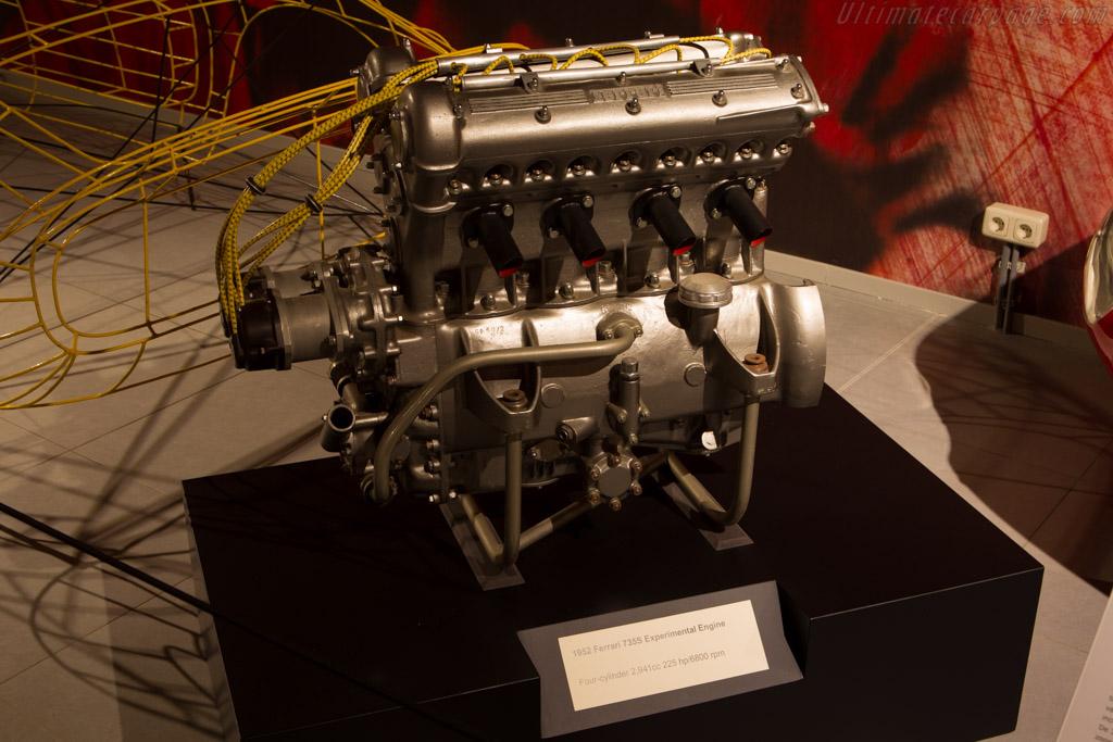Ferrari 735 S Engine    - The Louwman Museum