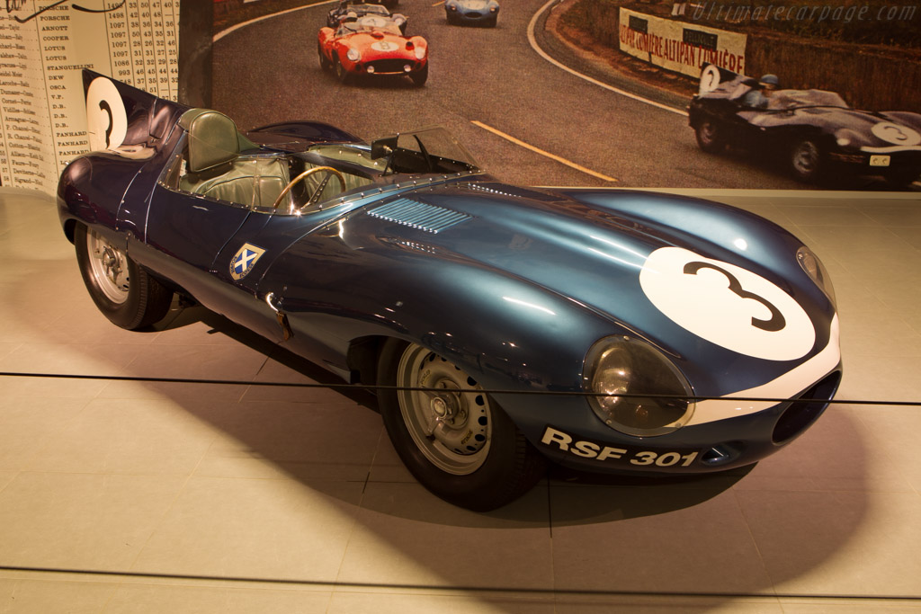 Jaguar D-Type Works Long Nose - Chassis: XKD 606   - The Louwman Museum