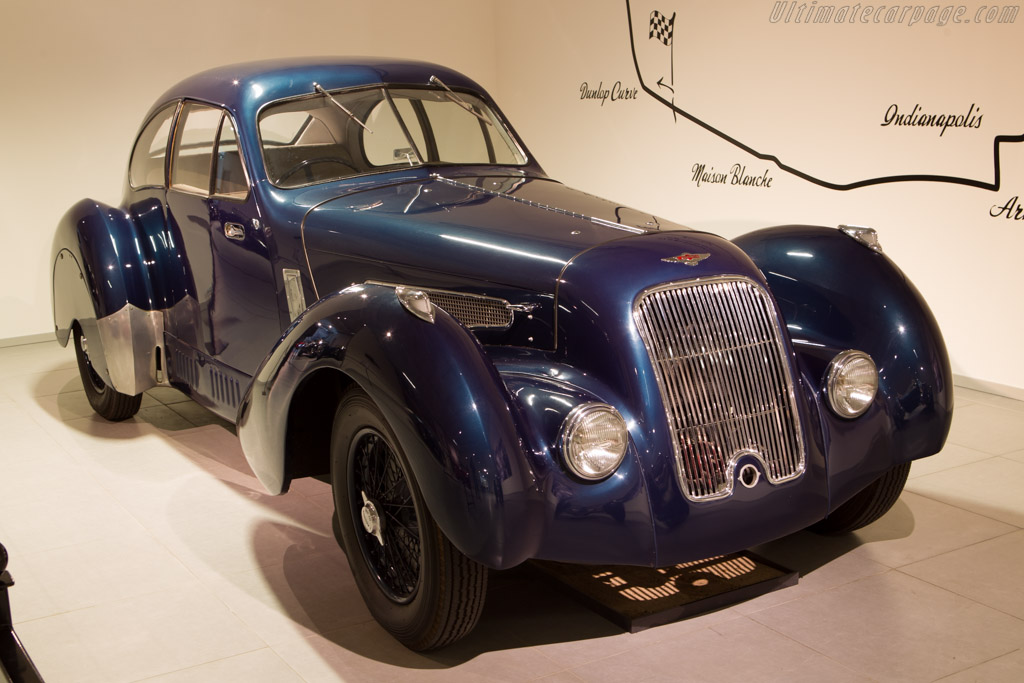 Lagonda V12 Lancefield Coupe    - The Louwman Museum