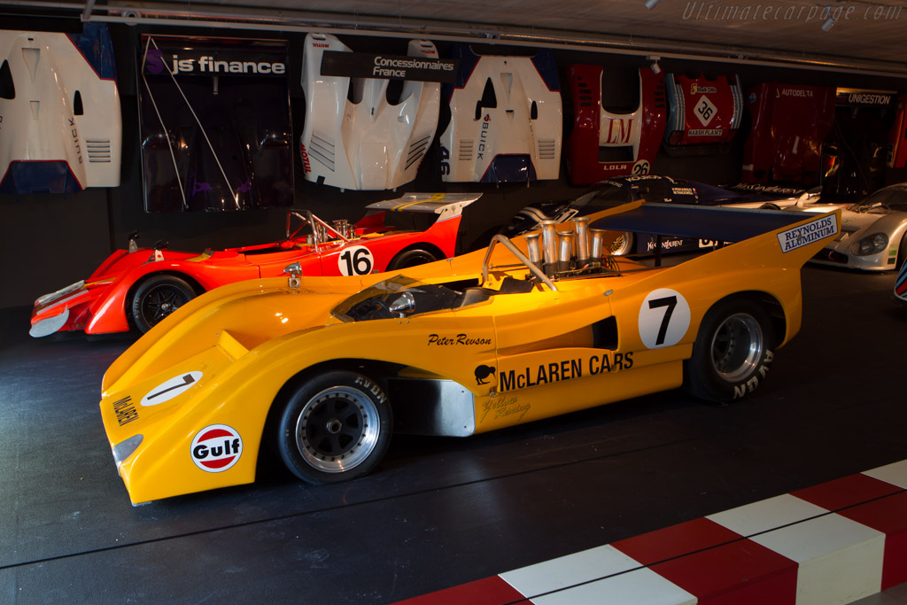 McLaren M8F Chevrolet - Chassis: M8F/1   - The Louwman Museum