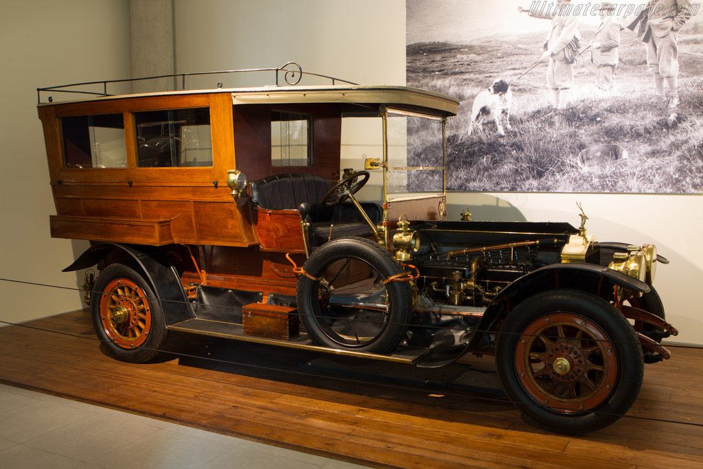 Rolls-Royce 40/50 hp Silver Ghost Croall & Croall Shooting Brake    - The Louwman Museum