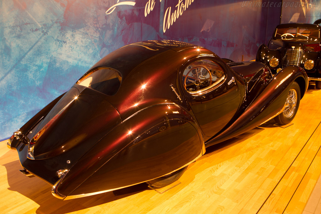 Talbot Lago T150C SS Teardrop Coupe - Chassis: 90109   - The Louwman Museum