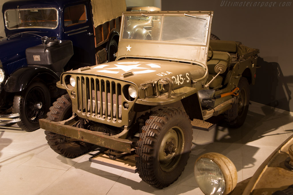 Willys Jeep Model MB    - The Louwman Museum