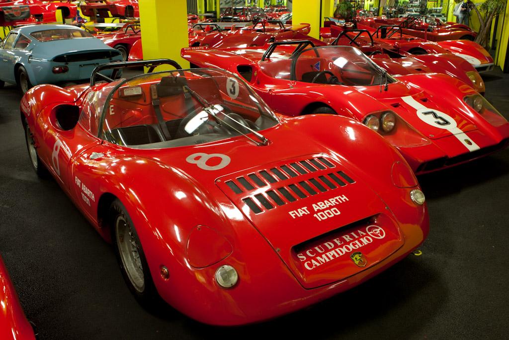 Abarth 1000 SP SE 04 'Millino'    - Maranello Rosso
