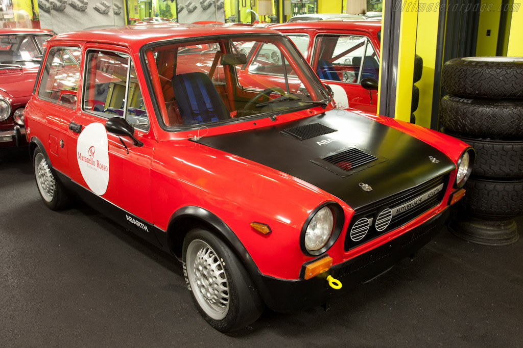 Autobianchi Abarth A112    - Maranello Rosso