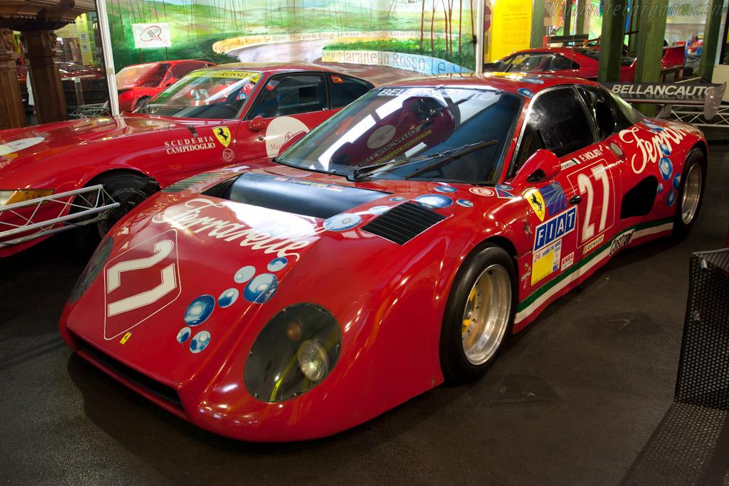 Fiat Spider Abarth >> Ferrari 512 BB LM 'Ferrarelle' - Chassis: 35529 - Maranello Rosso