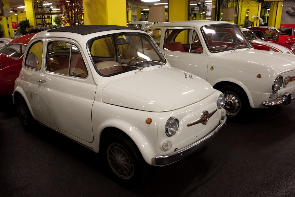 Fiat Abarth 595    - Maranello Rosso