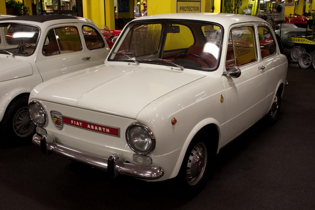 Fiat Abarth 850    - Maranello Rosso