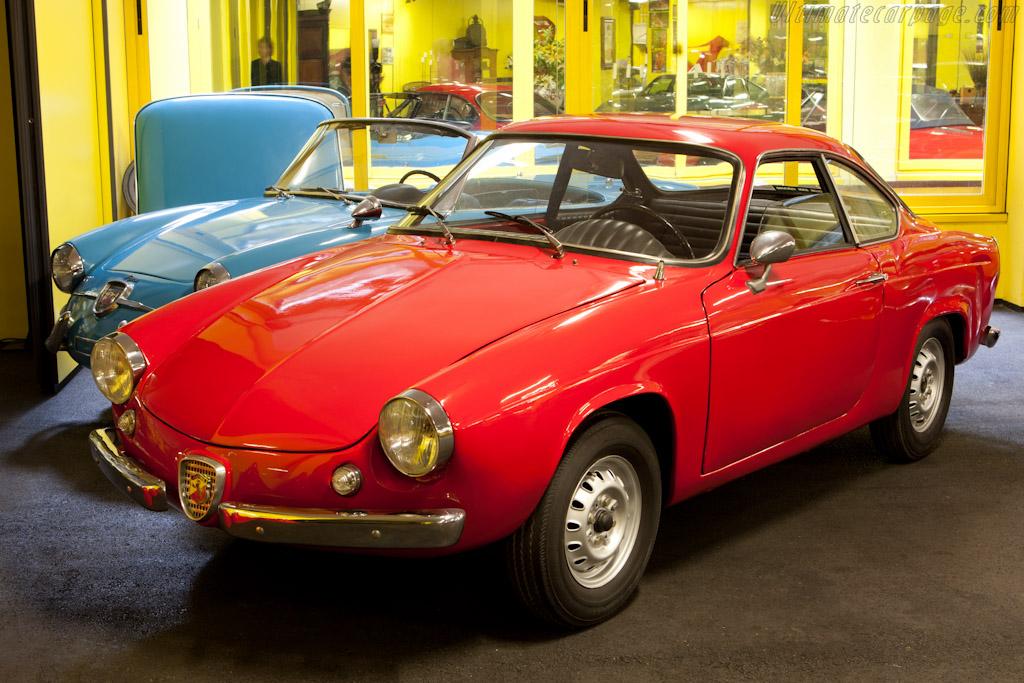 Fiat Abarth 850 Scorpione Allemano Coupe 'Cisitalia'    - Maranello Rosso