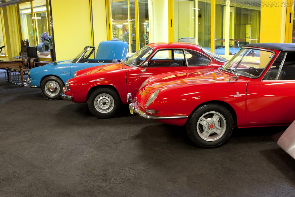 Fiat Abarth OTS 1000 Bertone Spyder    - Maranello Rosso