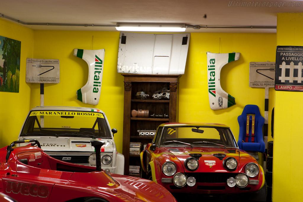 Fiat Abarth Rallye    - Maranello Rosso