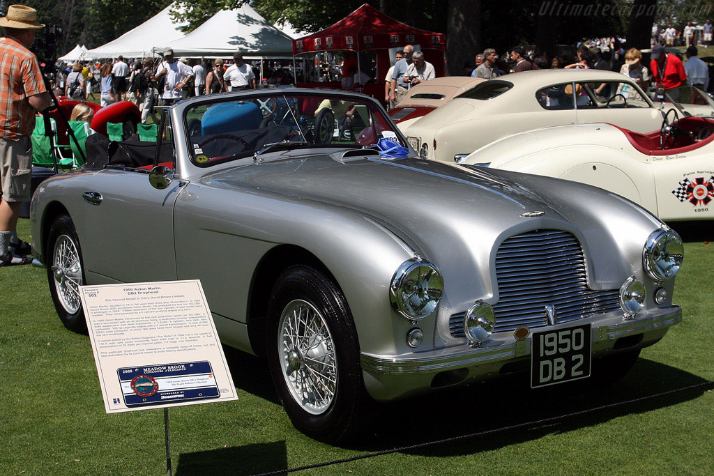 Aston Martin DB2 Drophead    - 2008 Meadow Brook Concours d'Elegance
