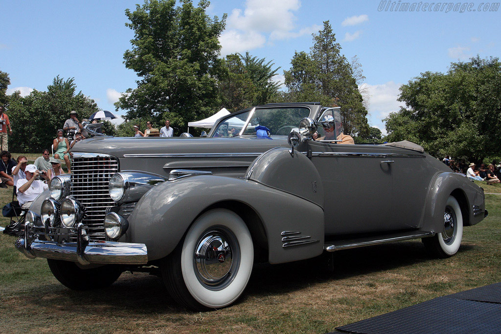 Cadillac V16 Convertible Coupe    - 2008 Meadow Brook Concours d'Elegance