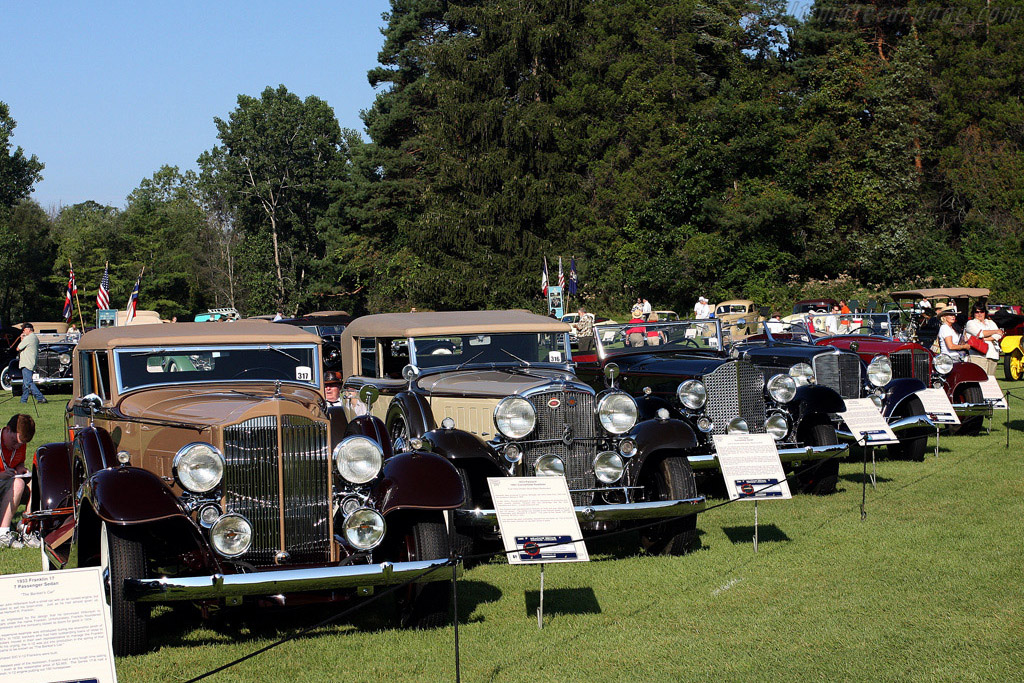 Class of 1933    - 2008 Meadow Brook Concours d'Elegance