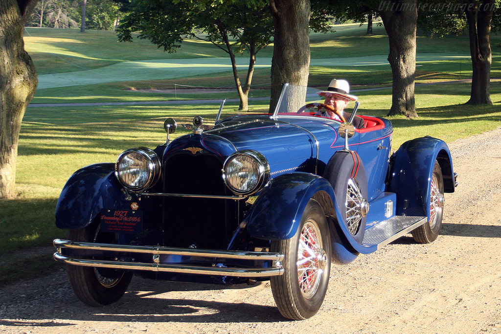Duesenberg Model X McFarlan Boattail Roadster - Chassis: D 96 E   - 2008 Meadow Brook Concours d'Elegance