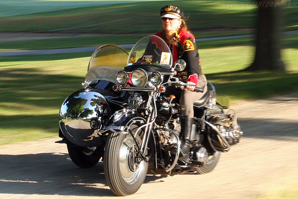 Harley Davidson 7L with Goulding Rocket Sidecar    - 2008 Meadow Brook Concours d'Elegance