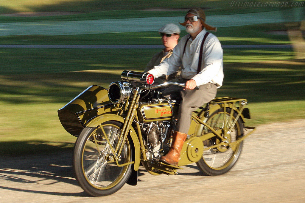 Harley Davidson Model F with Sidecar    - 2008 Meadow Brook Concours d'Elegance