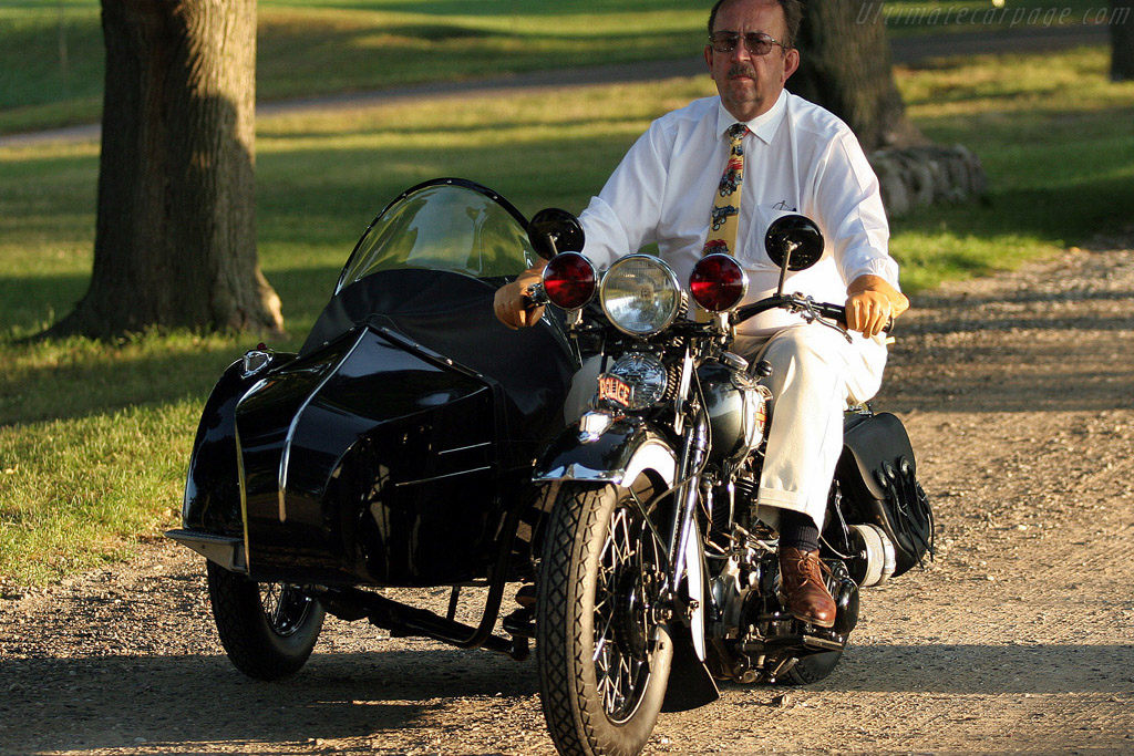 Harley Davidson Police Special with Sidecar    - 2008 Meadow Brook Concours d'Elegance