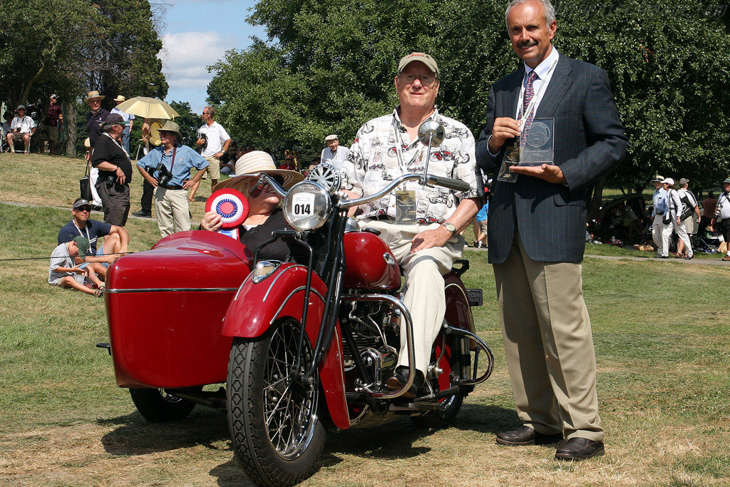 Indian 4 Cylinder with Sidecar    - 2008 Meadow Brook Concours d'Elegance