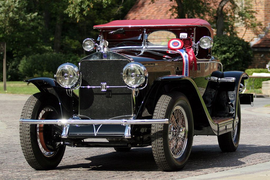 Isotta Fraschini Tipo 8A Roadster    - 2008 Meadow Brook Concours d'Elegance
