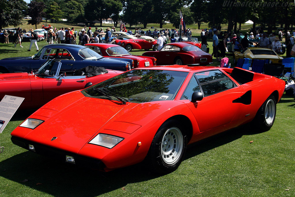Lamborghini Countach LP400    - 2008 Meadow Brook Concours d'Elegance