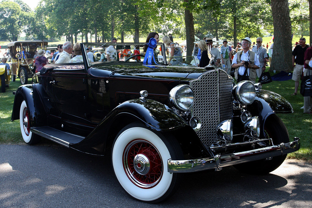 Packard 8 Coupe Roadster    - 2008 Meadow Brook Concours d'Elegance