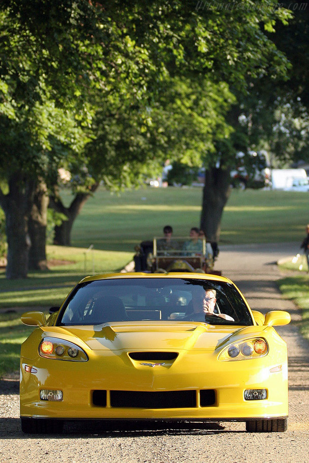 Pratt & Miller Corvette C6RS    - 2008 Meadow Brook Concours d'Elegance
