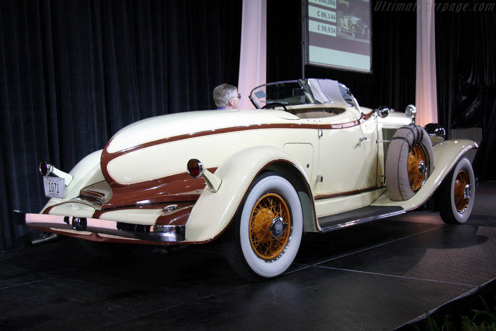 Auburn Model 8-98 Boattail Speedster - Chassis: 898A26003E   - 2006 Meadow Brook Concours d'Elegance