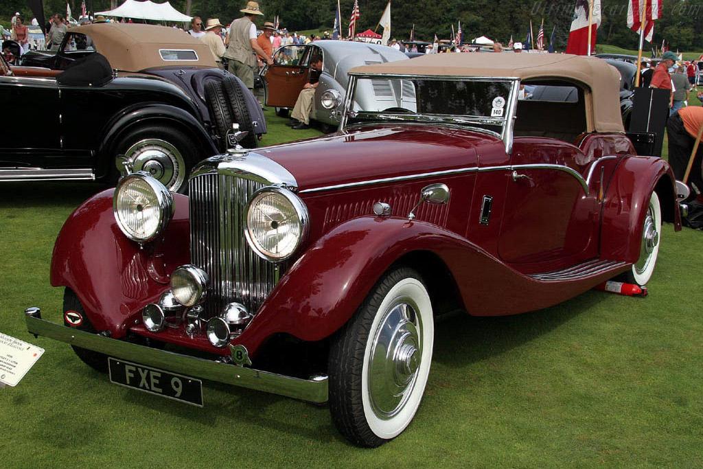 Bentley 3 1/2 Liter Vandenplas Derham Tourer Drophead    - 2006 Meadow Brook Concours d'Elegance