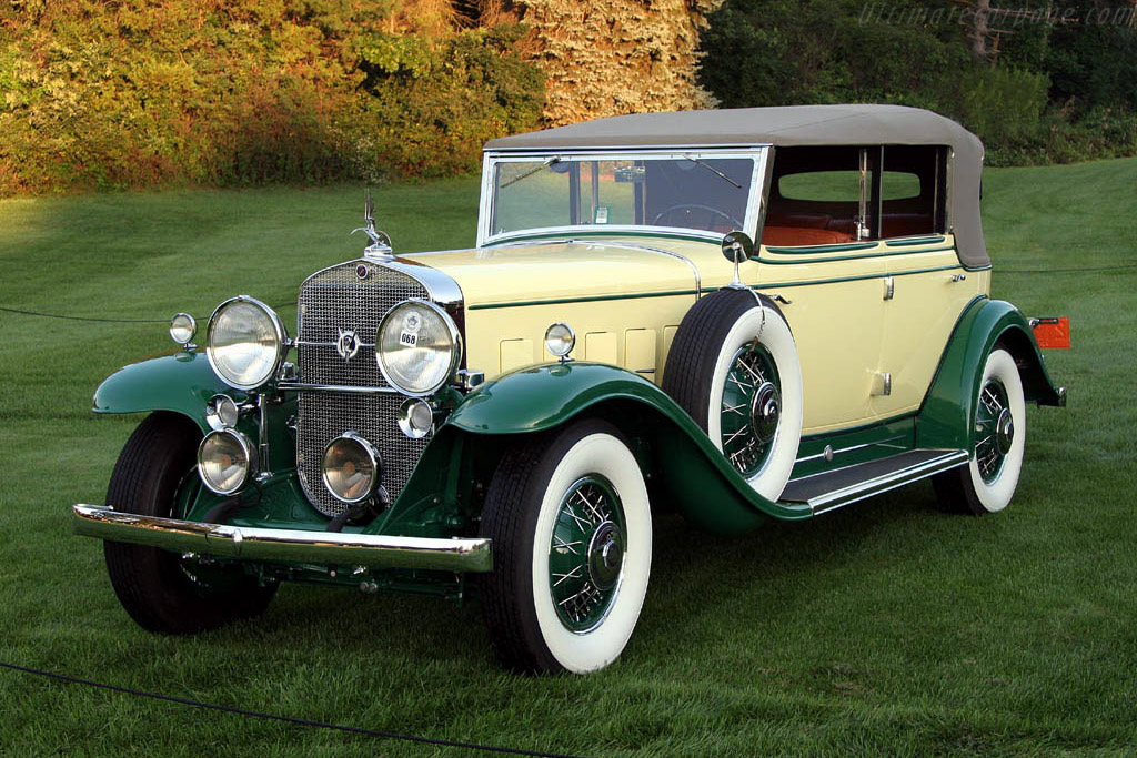 Cadillac V12 All-Weather Phaeton - 2006 Meadow Brook ...