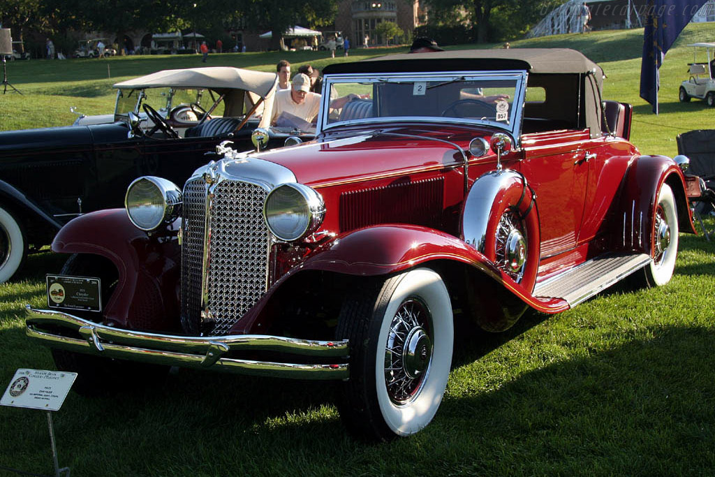 Chrysler CG Imperial Convertible Coupe    - 2006 Meadow Brook Concours d'Elegance