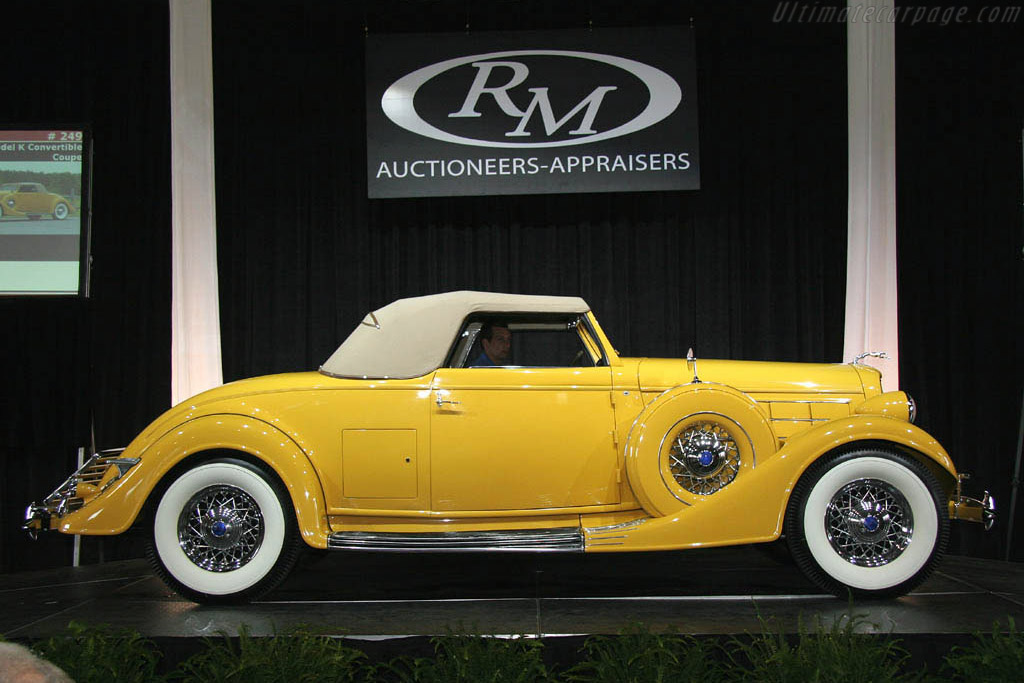 Lincoln Model K Convertible Coupe - Chassis: 3872   - 2006 Meadow Brook Concours d'Elegance