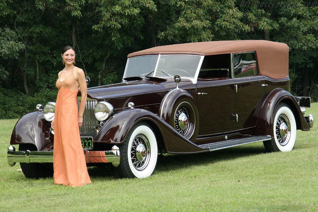 Packard 12 Convertible Sedan    - 2006 Meadow Brook Concours d'Elegance