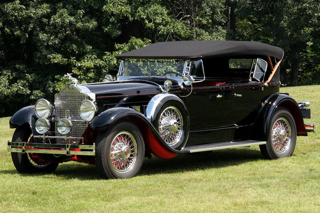 Packard 645 Dietrich Dual Cowl Phaeton    - 2006 Meadow Brook Concours d'Elegance