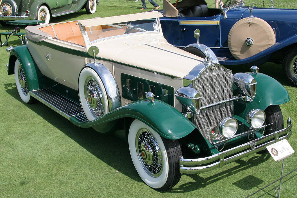Packard 845 Waterhouse Convertible Victoria    - 2006 Meadow Brook Concours d'Elegance