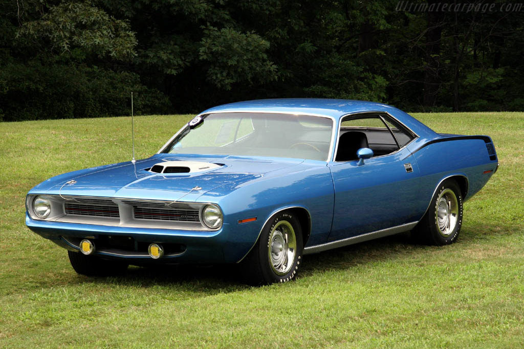 Plymouth Cuda Hemi    - 2006 Meadow Brook Concours d'Elegance