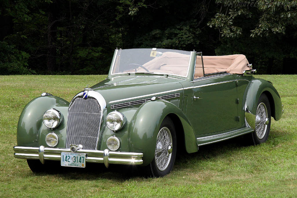 Talbot Lago T-26 Lago Record Cabriolet    - 2006 Meadow Brook Concours d'Elegance