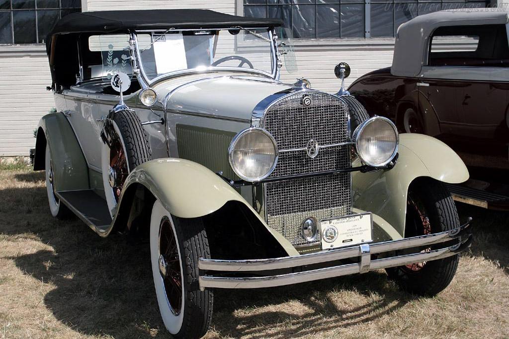 1929 Studebaker Commander Dual Cowl Phaeton     - 2007 Meadow Brook Concours d'Elegance