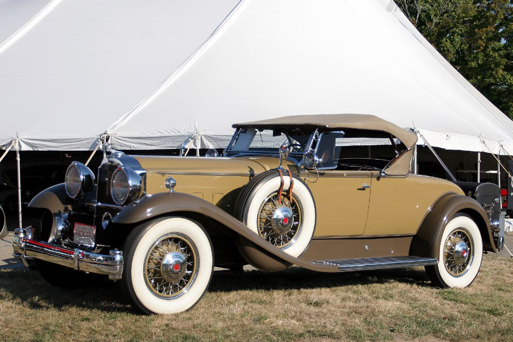 1931 Packard Deluxe Eight Roadster     - 2007 Meadow Brook Concours d'Elegance