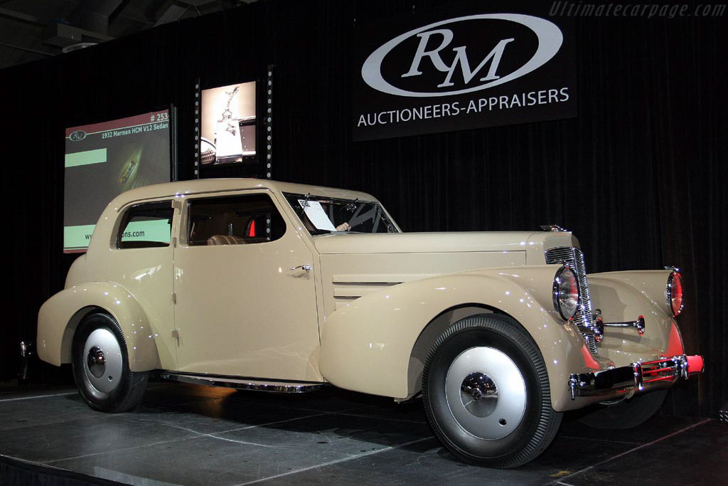 1932 Marmon HCM V12 Sedan     - 2007 Meadow Brook Concours d'Elegance