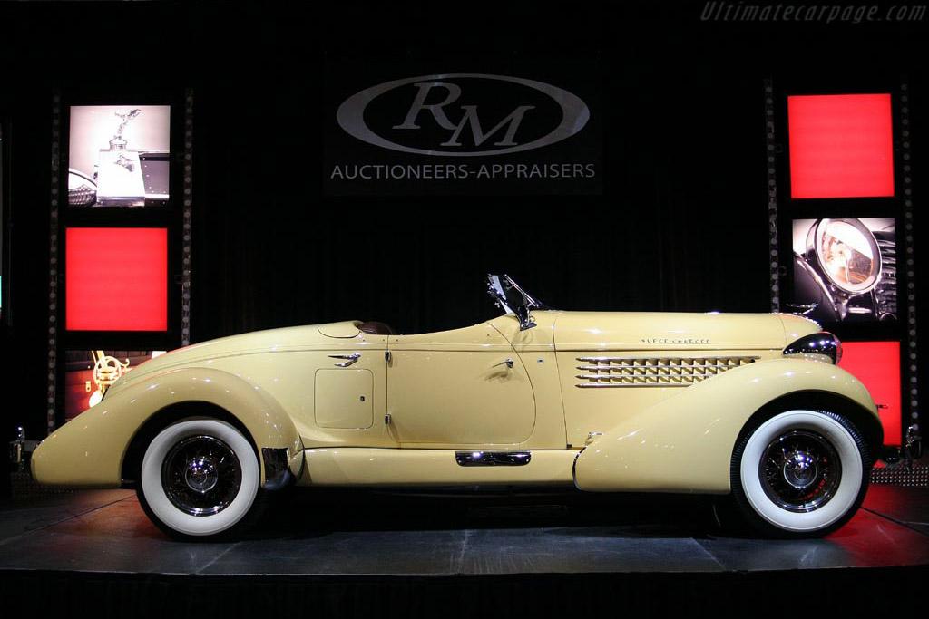1935 Auburn 851SC Boattial Speedster     - 2007 Meadow Brook Concours d'Elegance