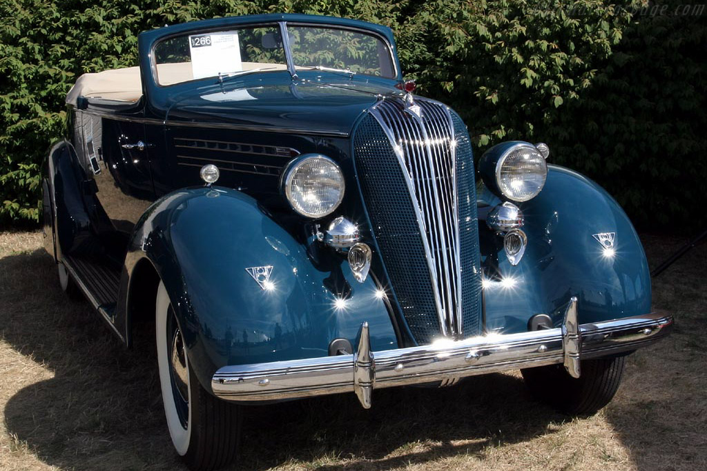 1936 Hudson Custom Eight Convertible Coupe     - 2007 Meadow Brook Concours d'Elegance