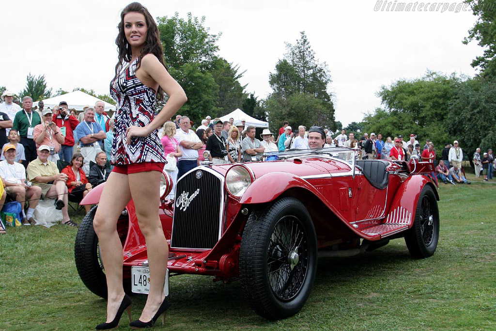 Alfa Romeo 8C 2300 Zagato Spider - Chassis: 2111015   - 2007 Meadow Brook Concours d'Elegance