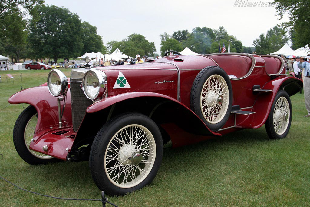 Alfa Romeo RLSS - Chassis: 8009   - 2007 Meadow Brook Concours d'Elegance