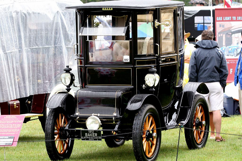 Baker Electric Special Extension Coupe    - 2007 Meadow Brook Concours d'Elegance