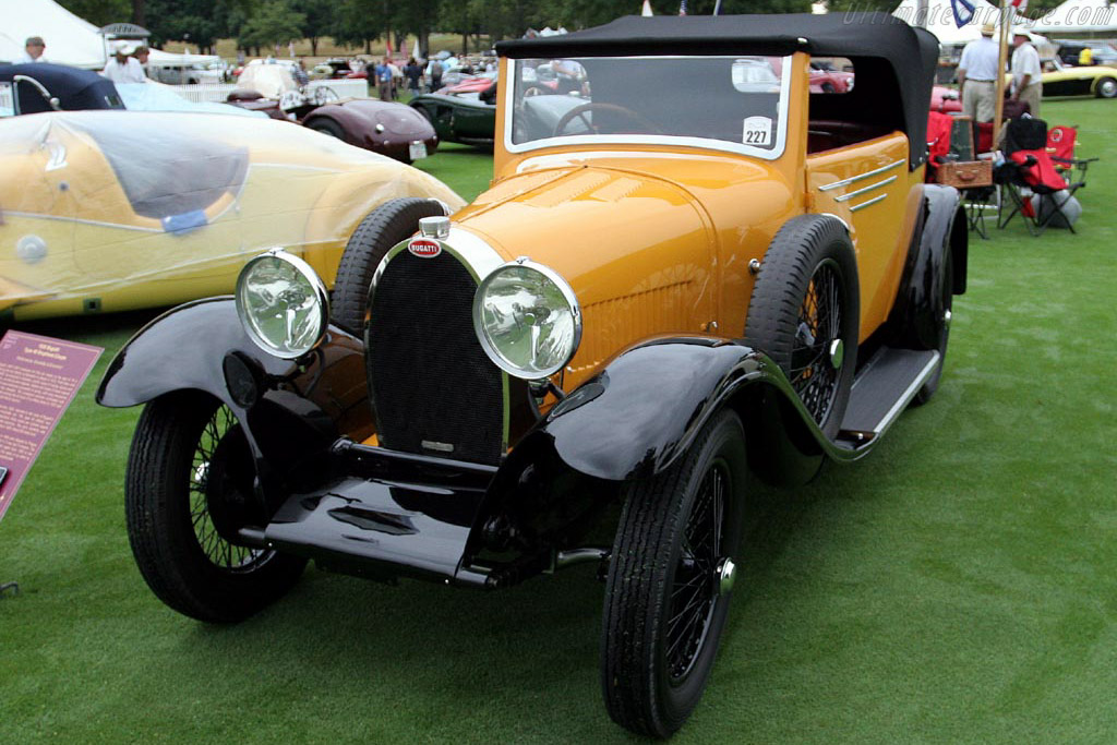 Bugatti T40 Drophead Coupe    - 2007 Meadow Brook Concours d'Elegance