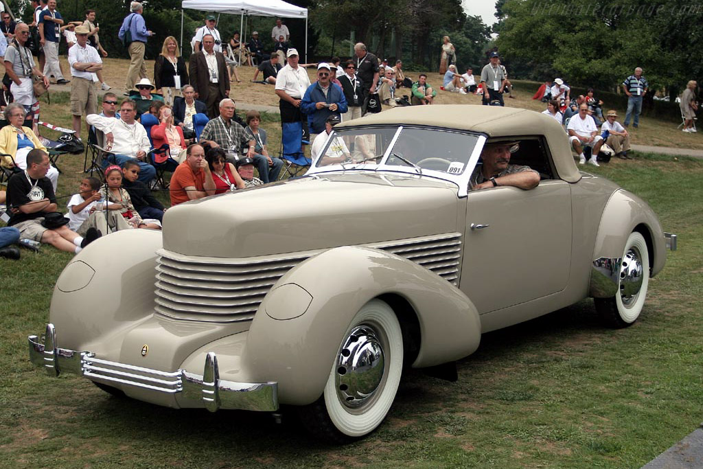 Cord 814 Prototype Custom Cabriolet    - 2007 Meadow Brook Concours d'Elegance