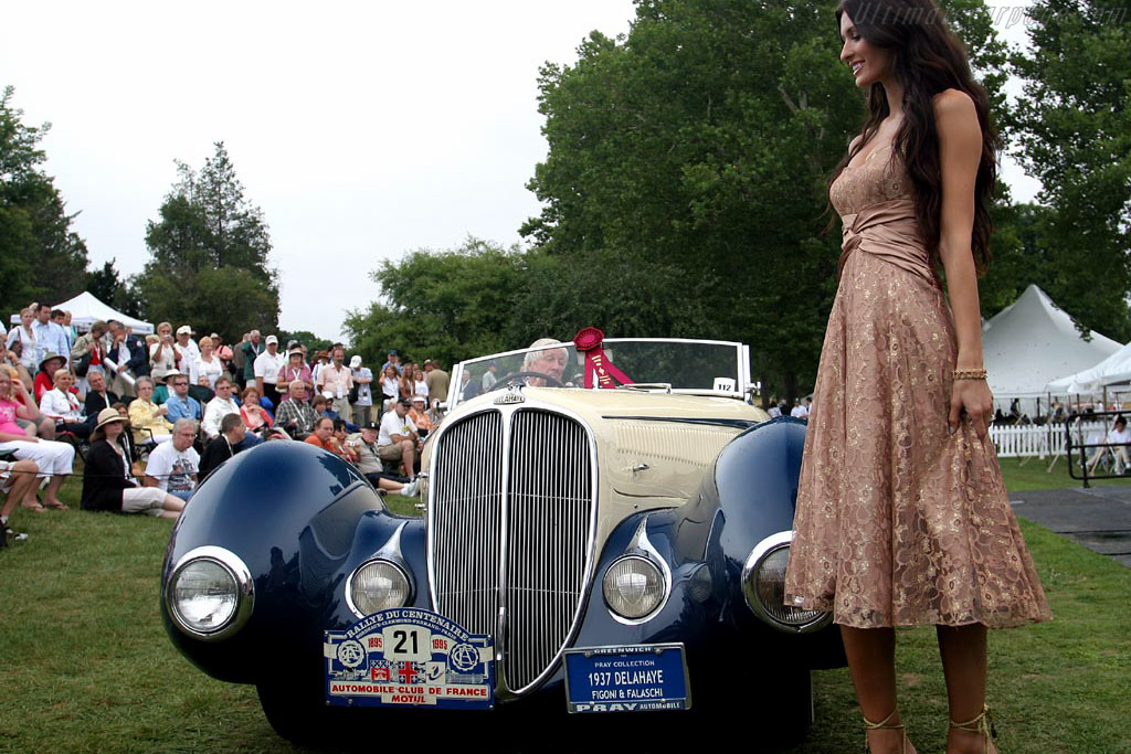Delahaye 135M Figoni & Falaschi Convertible    - 2007 Meadow Brook Concours d'Elegance